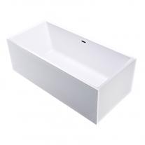 Cada freestanding, Florida, Ajax New 170, dreptunghiulara, cu instalatie completa, alb