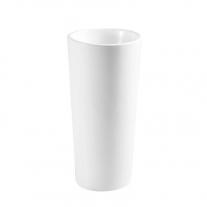 Lavoar stativ, Fluminia, Athos, rotund, 40 cm, alb