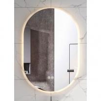 Oglinda Fluminia, Dali, ovala, cu iluminare LED, 3 culori