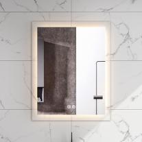 Oglinda Fluminia, Miro 60, dreptunghiulara, cu iluminare LED