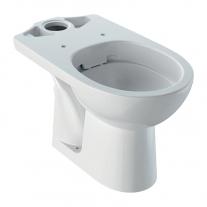 Vas WC stativ Geberit, Selnova, Rimfree, alb
