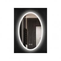 PICASSO-EX, OGLINDA OVALA, LED-EXTERNAL LIGHT, TOUCH, DIMMER, DEZABURIRE, 2 CULORI, 500Xh800 MM, ML5-50-B