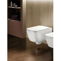 Hatria, Fusion Q, vas WC suspendat, dreptunghiular, alb