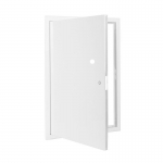 Usita de vizitare, otel zincat, alb, 40x60 cm
