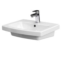 Lavoar suspendat, Easy, Cersanit, 70 cm, alb