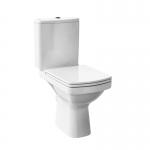 Set vas WC monobloc + rezervor alimentare laterala, EASY