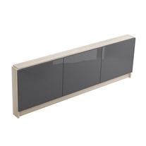 Cersanit, Smart, mobilier pentru cada, 170 cm, gri