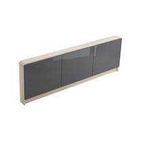 Cersanit, Smart, mobilier pentru cada, 160 cm, gri