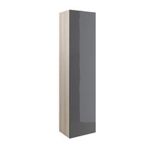Dulap coloana Cersanit, Smart, cu o usa, 170 cm, gri