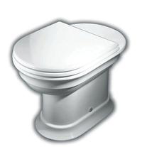 Vas WC stativ Hatria, Dolcevita, iesire orizontala, alb