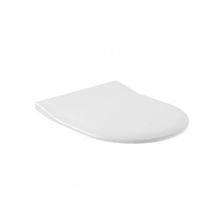 Villeroy-Boch Capac WC slim, soft close, pentru vas WC Subway, alb alpin