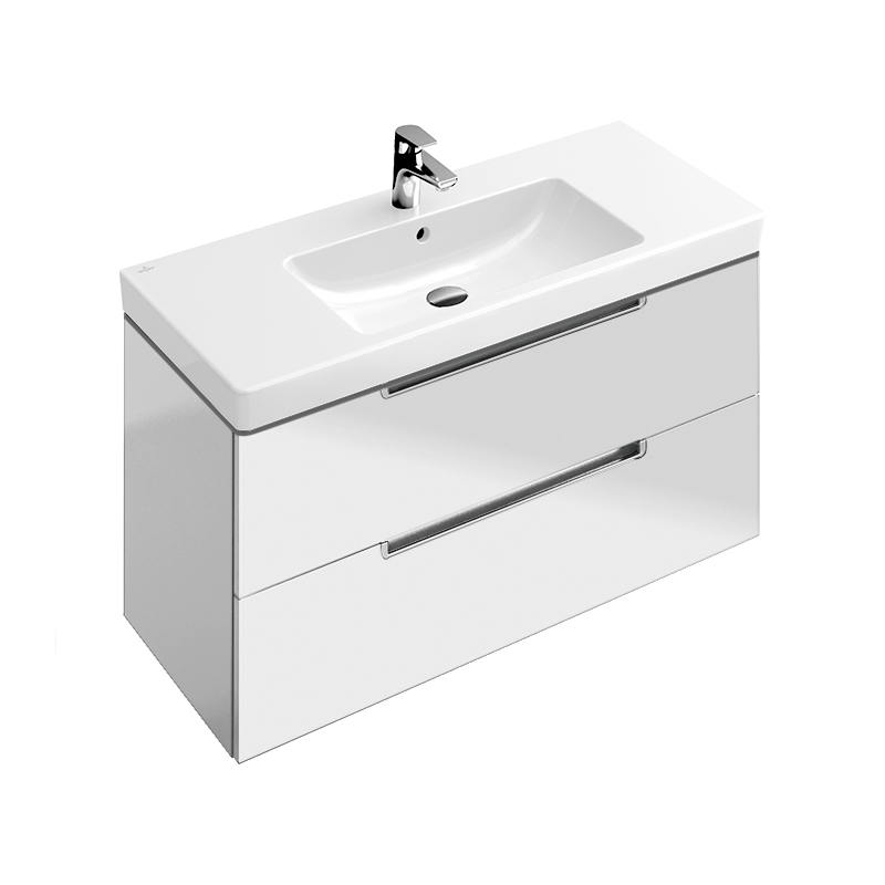 Subway 2 0 glossy white mobilier suspendat 787x420x449 for Mobilier wc