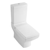 Vas WC dreptunghiular, stativ, monobloc, alb alpin, La Belle