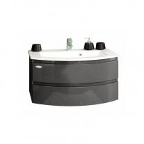 Set lavoar + mobilier Kolpasan, Iman, 100 cm, antracit