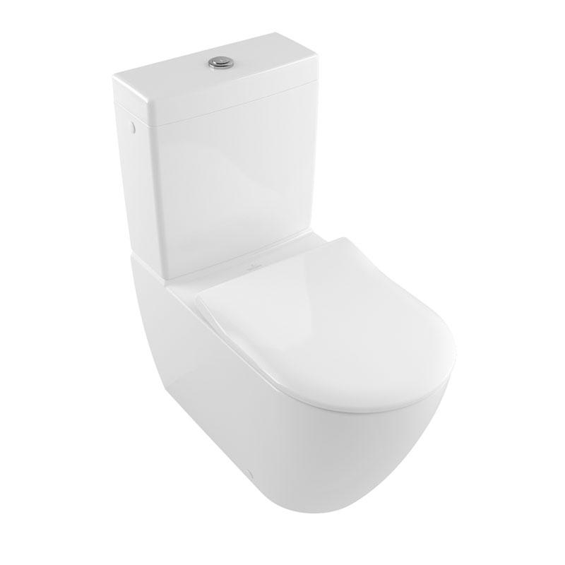 subway 2 0 alb vas wc monobloc stativ direct flush. Black Bedroom Furniture Sets. Home Design Ideas