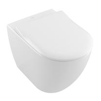 Vas WC stativ Villeroy & Boch, Subway 2.0, Direct Flush, alb, tratament CeramicPlus