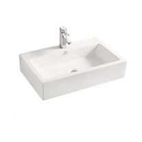 Lavoar pe blat Fluminia, Imperial, alb, 71 x 46 cm