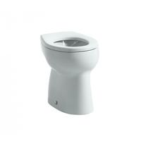 Vas WC stativ pentru copii cu iesire orizontala, alb, Kids