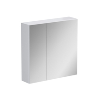 Dulap cu oglinda Opoczno, Street Fusion, fara sistem de iluminare, 60 cm, alb