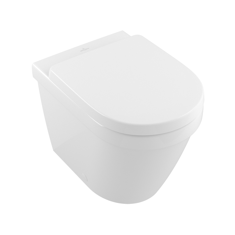 ARHITECTURA,VAS WC STATIV ROTUND RIMLESS CU DF, BACK TO WALL, 37X54, 5690R001