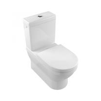 Vas WC stativ, rotund, alb alpin, Architectura