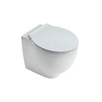 Vas WC stativ Hatria, Le Fiabe, pure rim, alb