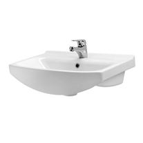 Lavoar pentru mobilier Cersanit, Cersania New, 55 cm, alb