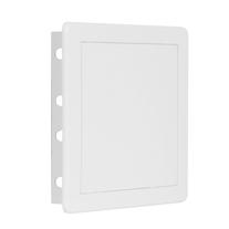 Usita de vizitare Haco, plastic, 15 x 15 cm, alb