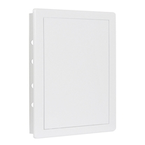 Usita de vizitare Haco, plastic, 15 x 20 cm, alb