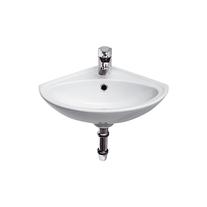 Lavoar de colt Cersanit, Sigma, 36 cm, alb