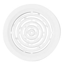 Rama de aerisire Haco, rotunda, Ø 5 cm, alb