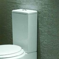 Rezervor vas WC Hatria, Sculture, alimentare de jos