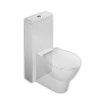 MONOLITH, ALB, REZERVOR CU ALIMENTARE DIN SPATE PT WC STATIV,CU SET FIXARE,Y0MK01