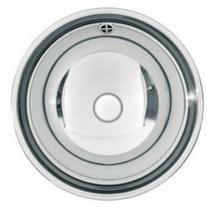 Chiuveta rotunda incorporabila, inox, Rondo, 35 cm