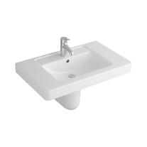 Lavoar suspendat Villeroy & Boch, Architectura, dreptunghiular, 100 cm, alb alpin