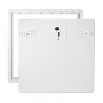Usita de revizie Haco, 50 x 50 cm, alb, cu inchizator