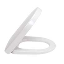 Capac WC Villeroy & Boch, Subway 2.0, soft close, alb, pentru vas WC COMPACT