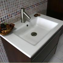 Lavoar pe mobilier Arthema, Deco, 85 cm, alb